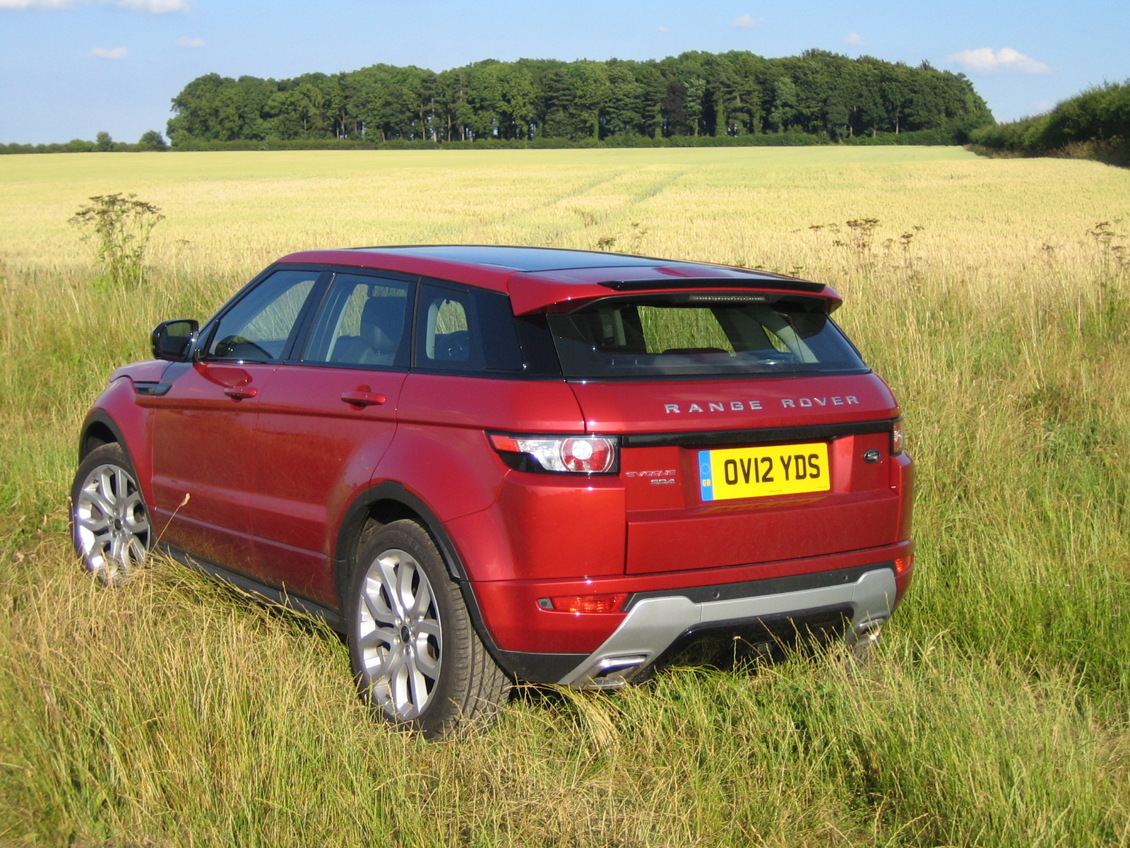 range rover evoque sd4 2 2 diesel road test. Black Bedroom Furniture Sets. Home Design Ideas