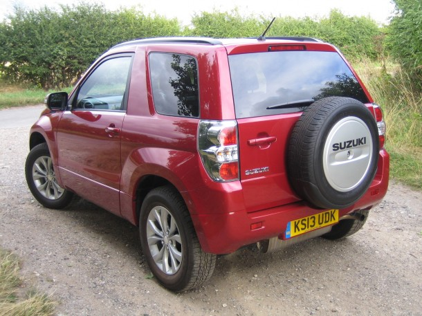 Suzuki Grand Vitara 3-door 2.4 SZ4 road test and review