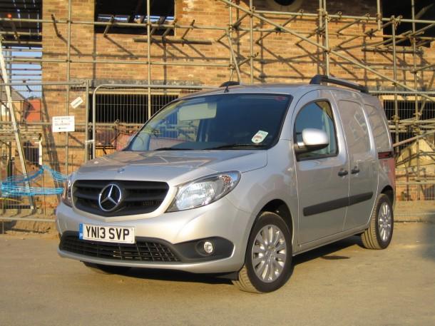 Mercedes-Benz Citan 109 CDI Van Long road test and review