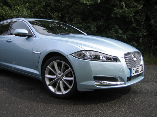 Jaguar XF Sportbrake 2.2 diesel 163PS Luxury road test review