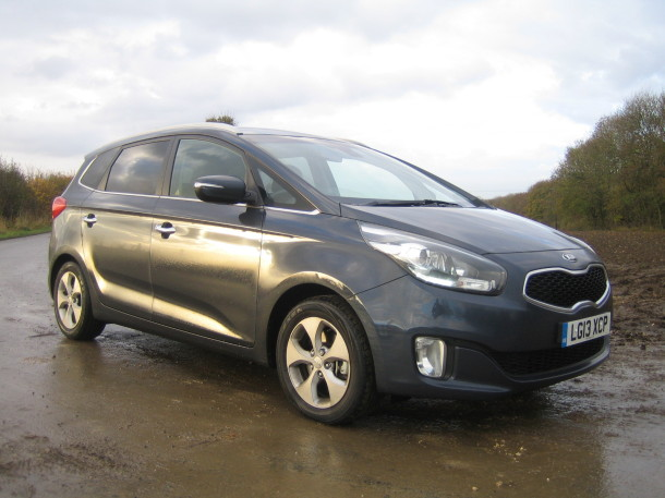 Kia Carens 1.7 CRDi 2 Eco roadtest review