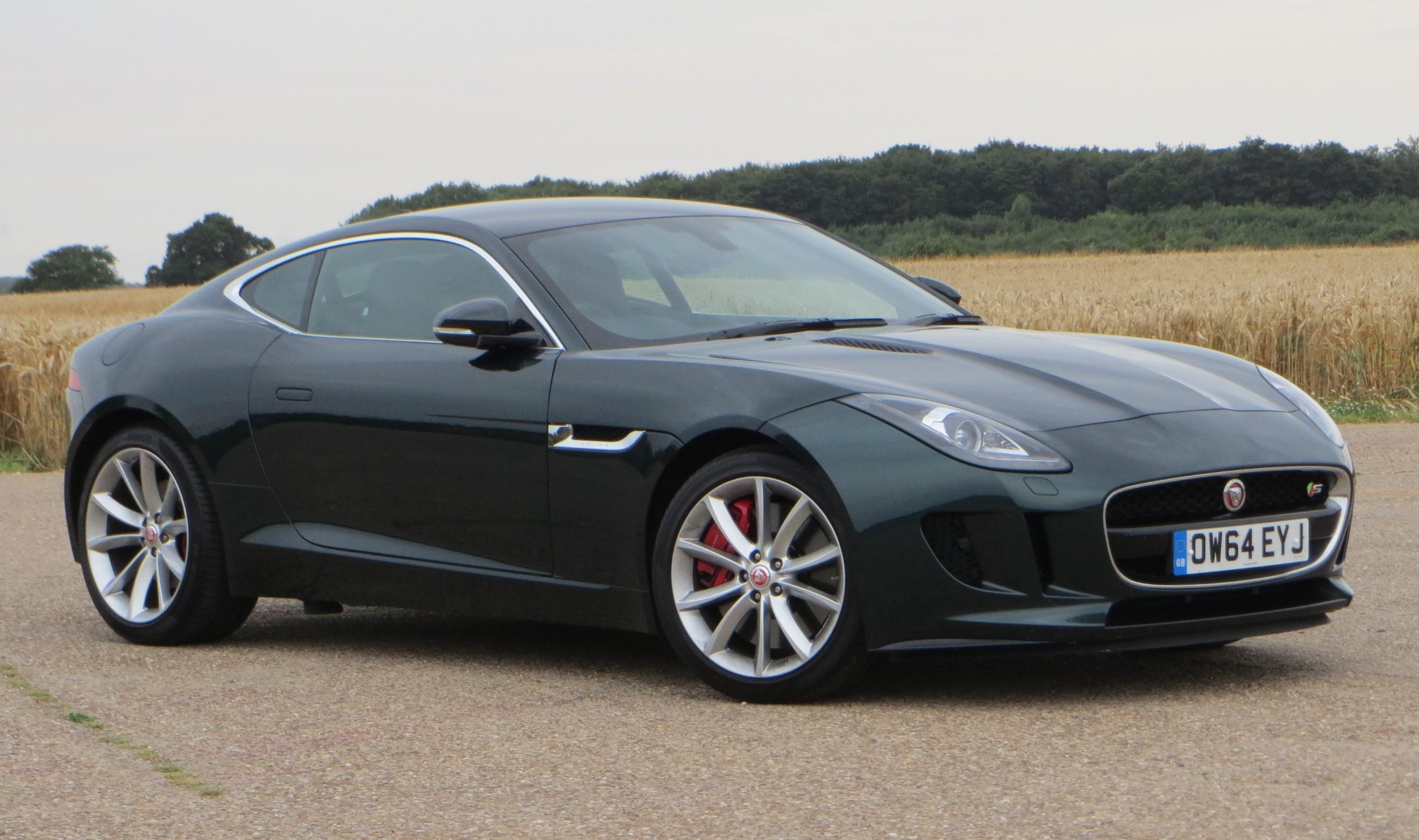 jaguar f type 3 0 v6 supercharged coupe road test report. Black Bedroom Furniture Sets. Home Design Ideas