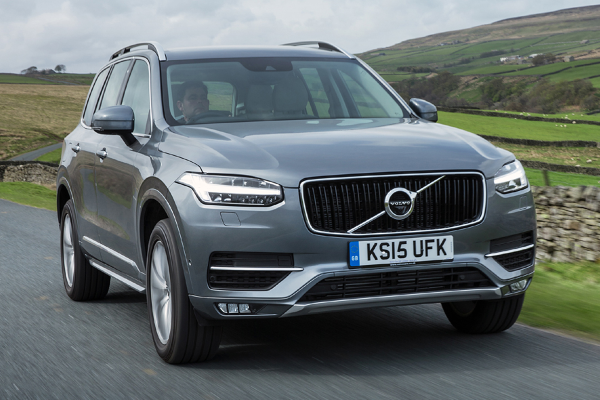 volvo xc90 road test report review. Black Bedroom Furniture Sets. Home Design Ideas